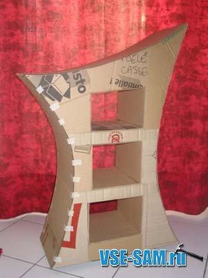 каркас мебели из картона