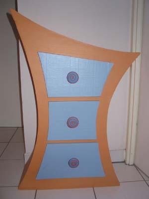 Самодельная мебель из картона