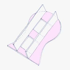 схема постройки мебели из картона