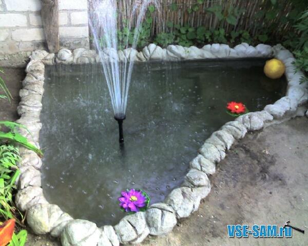 сделай сам фонтан