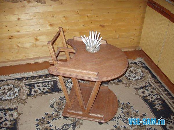 подкатной столик своими руками сделай сам