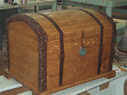 Деревянный сундук своими руками фото