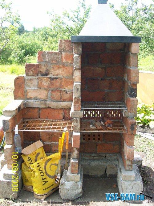 Барбекю из старого кирпича барбекю печь 3d max