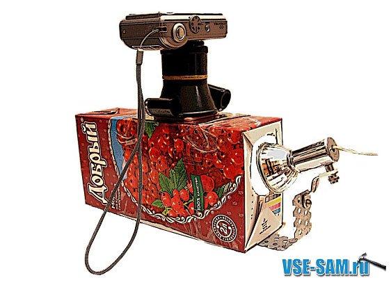 Самодельный сканер фотопленок