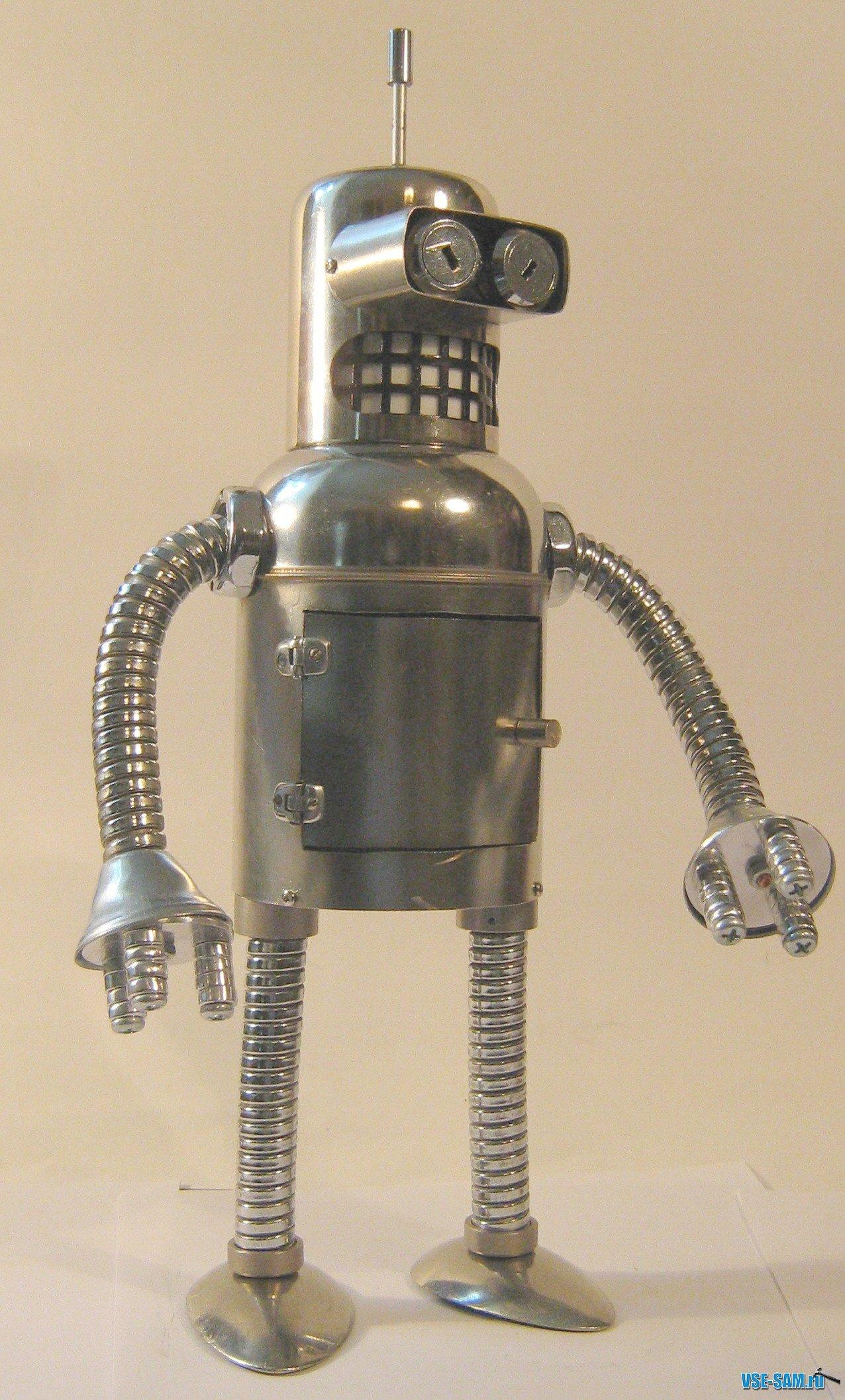Как сделать робота из металла своими руками