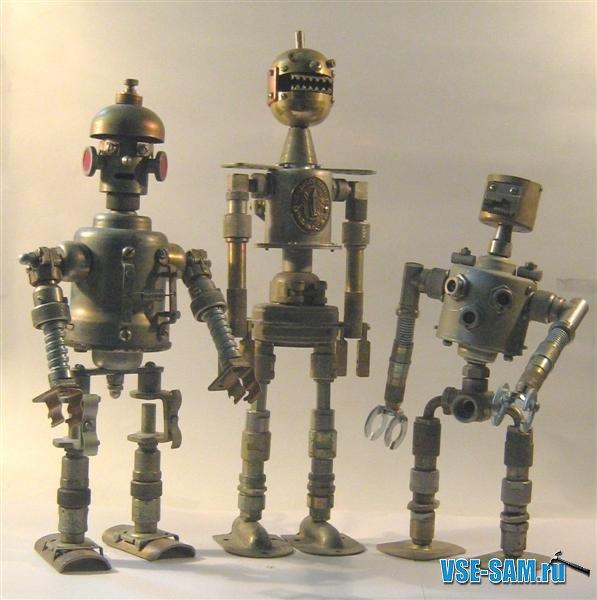 Железные игрушки своими руками