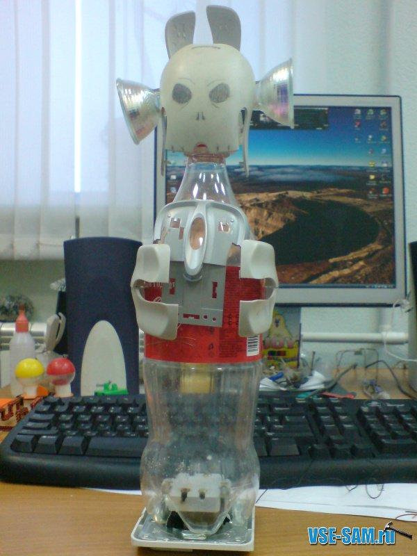 Как сделать из робота подручных средств в 130