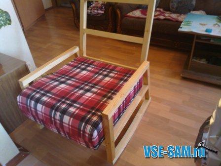 Плетеное мебель своими руками