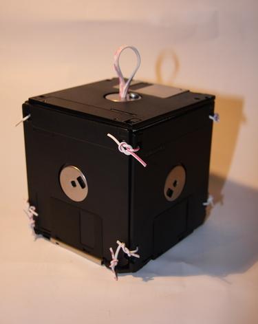 Коробочка из дискет