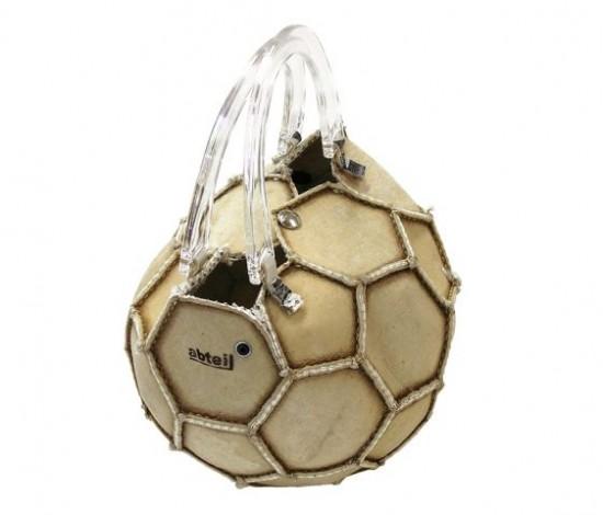 Сумочка из мяча