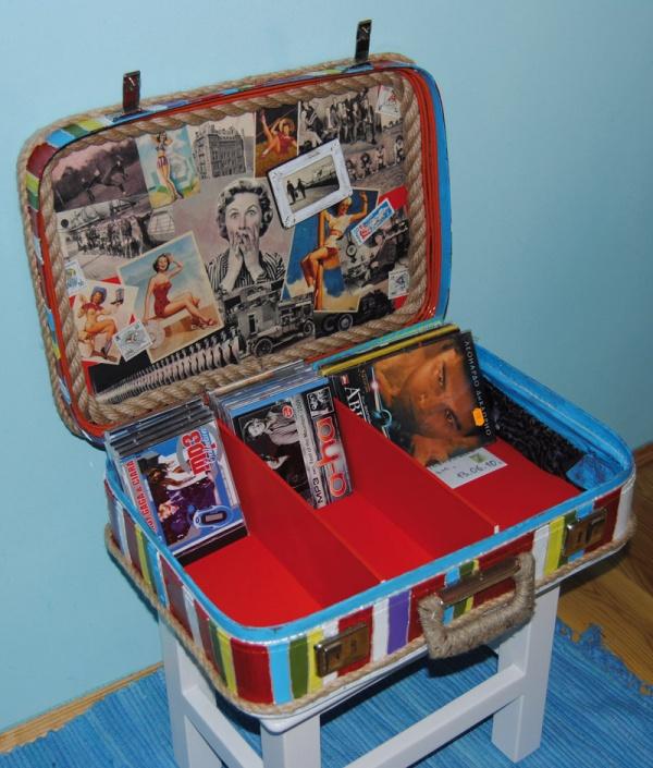 """Подарок своими руками из старого чемодана """" VSE-SAM.ru - Сделай сам своими руками поделки, самоделки"""