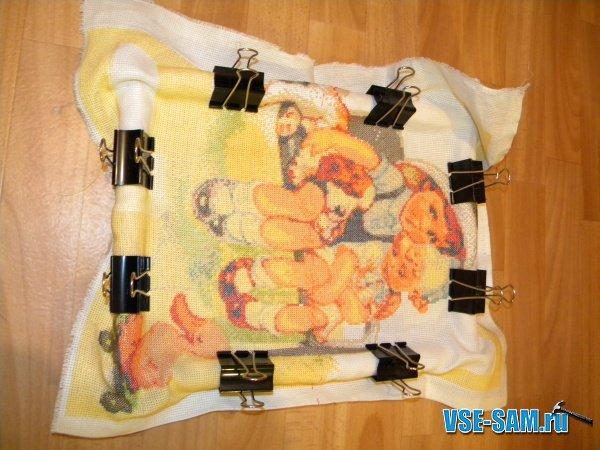 Пяльцы для вышиваниям своими руками