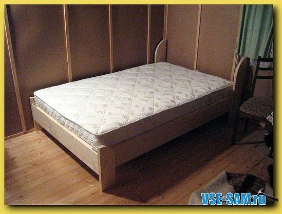 Двуспальная кровать за 4 часа