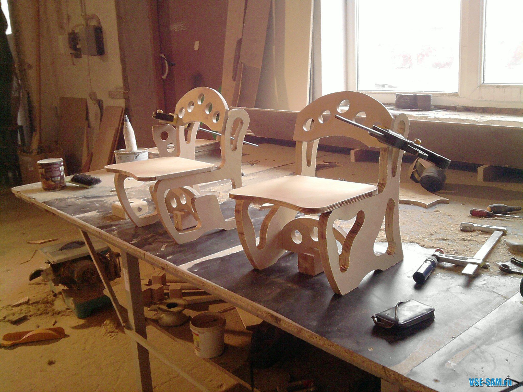 Своими руками сделать мебель из фанеры