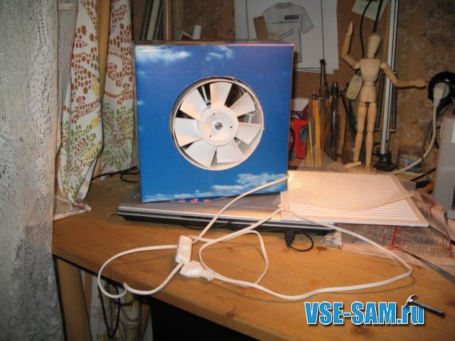 Короб для вентилятора своими руками