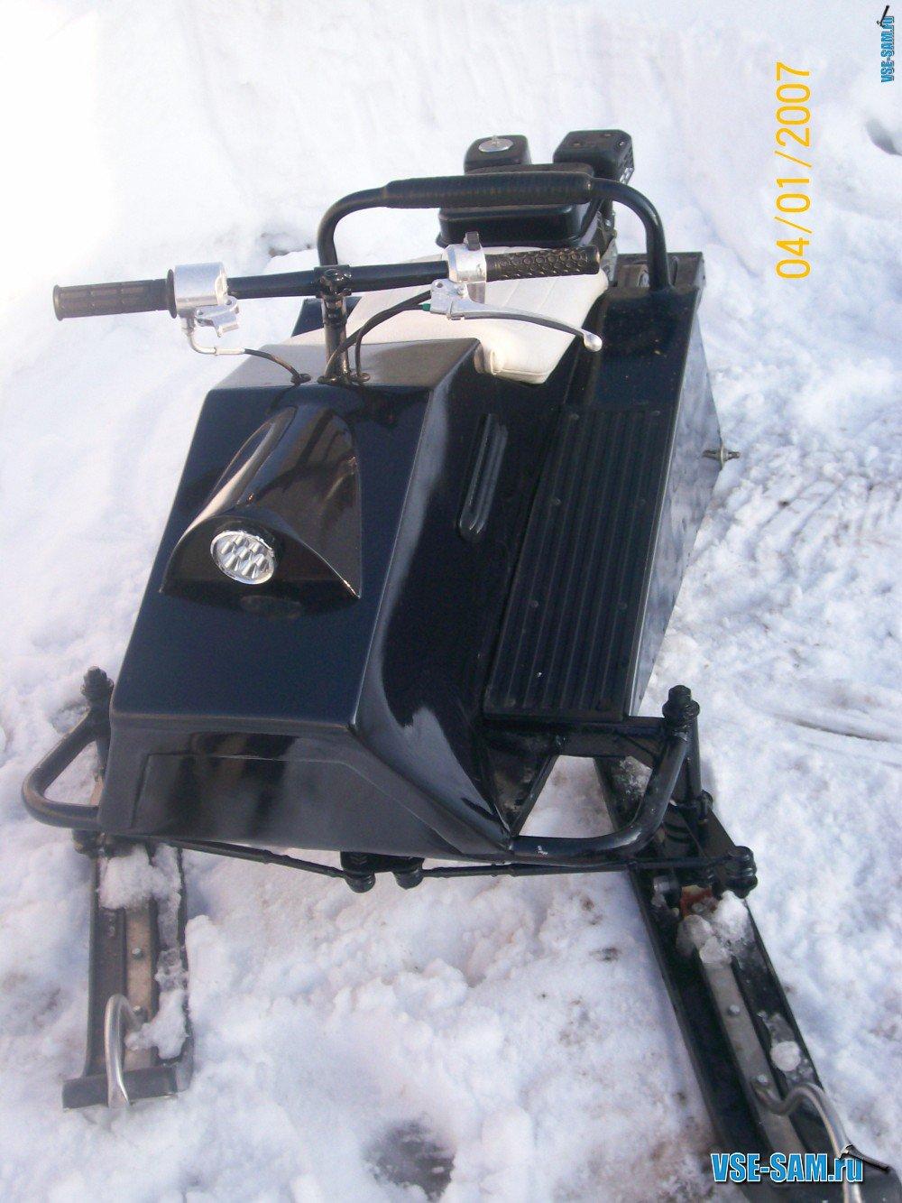 Гусеничный снегохФото как сделать поделку к новому