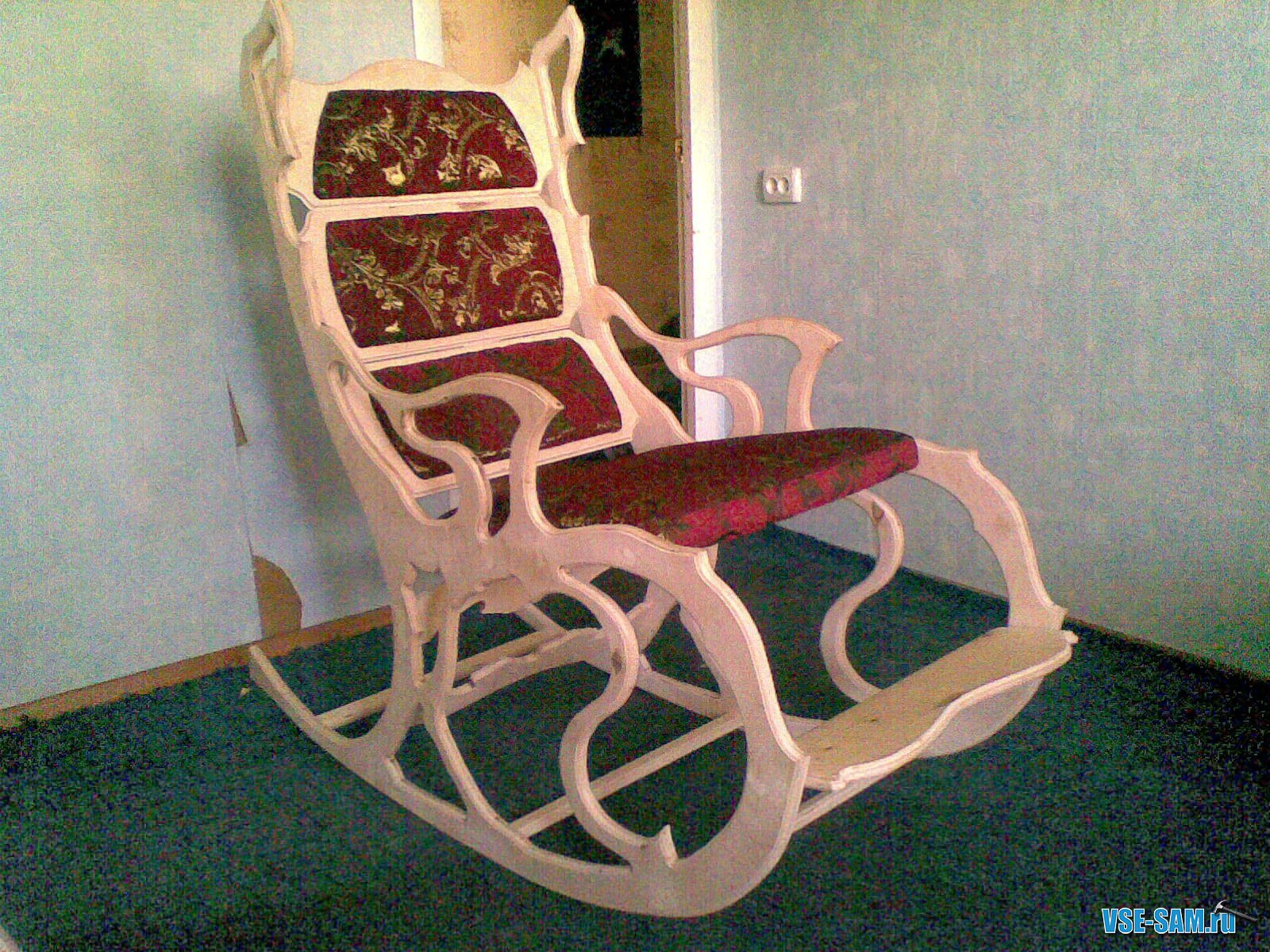 Кресло качалки из дерева своими руками чертежи