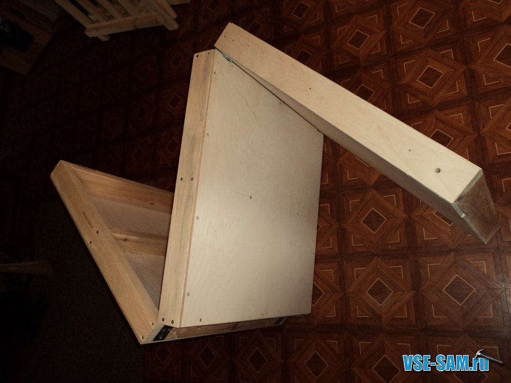 Чертежи кресло кровати своими руками