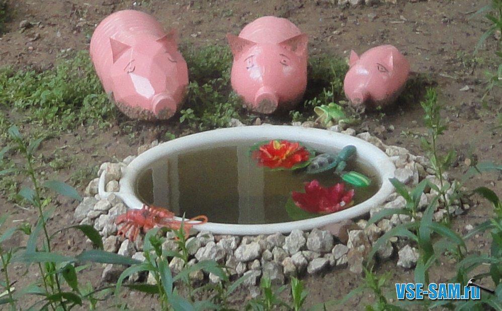 красивые поделки для сада и огорода своими руками - Самоделкины