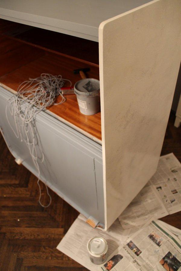 Преображение шкафа 70-х