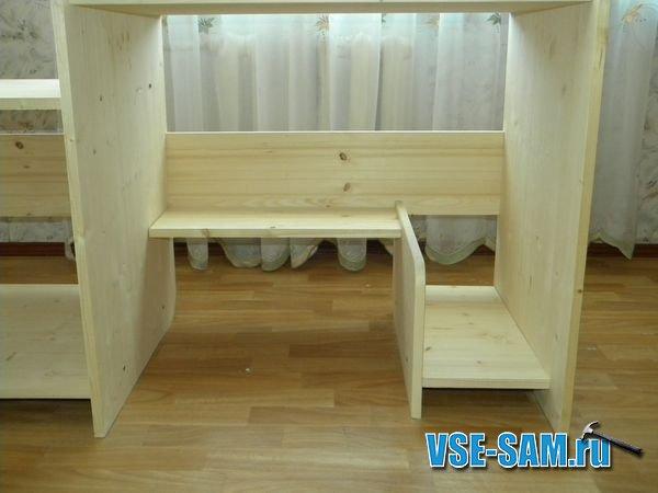 Сборка мебели из мебельного щита своими руками