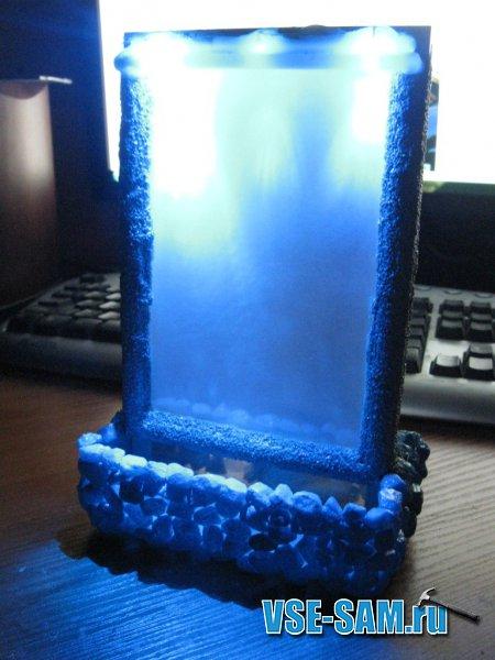 Фоторамка с водопадом у вас на столе