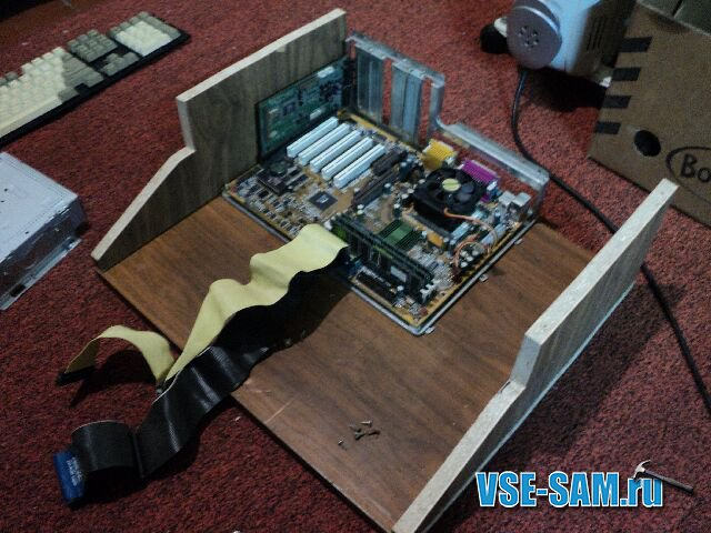 самодельный деревянный корпус для пк