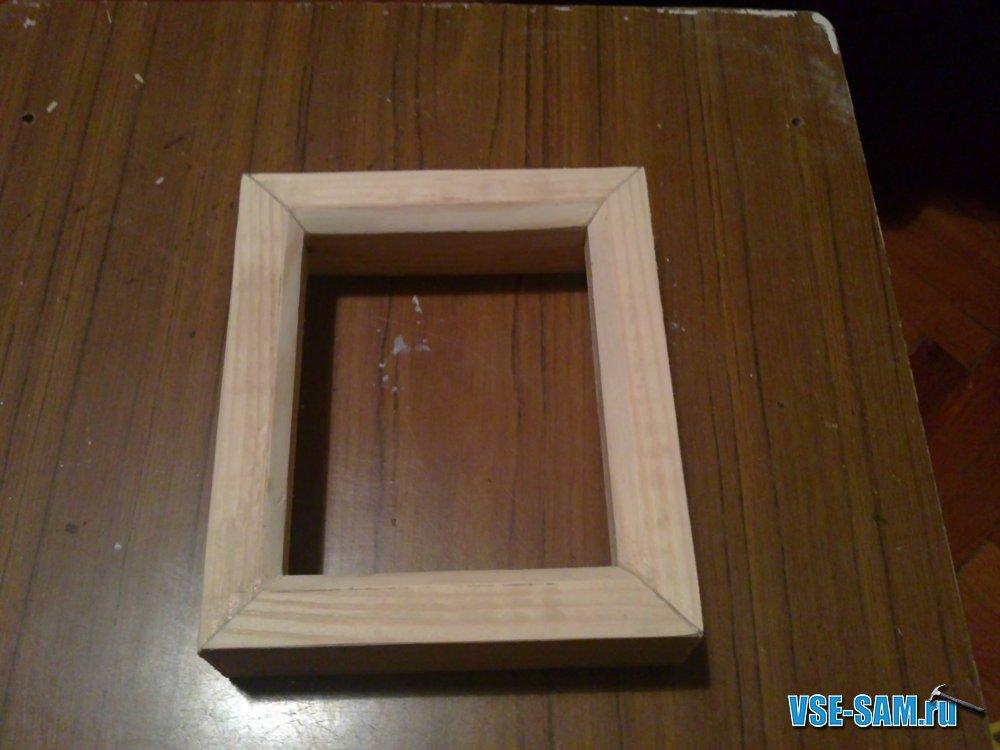 Как сделать рамку из дерева своими руками в домашних
