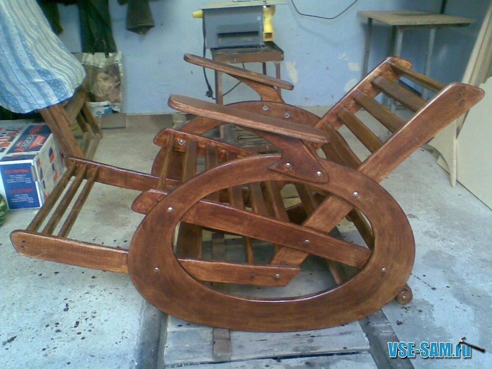 Чертежи кресла качалки из фанеры своими руками