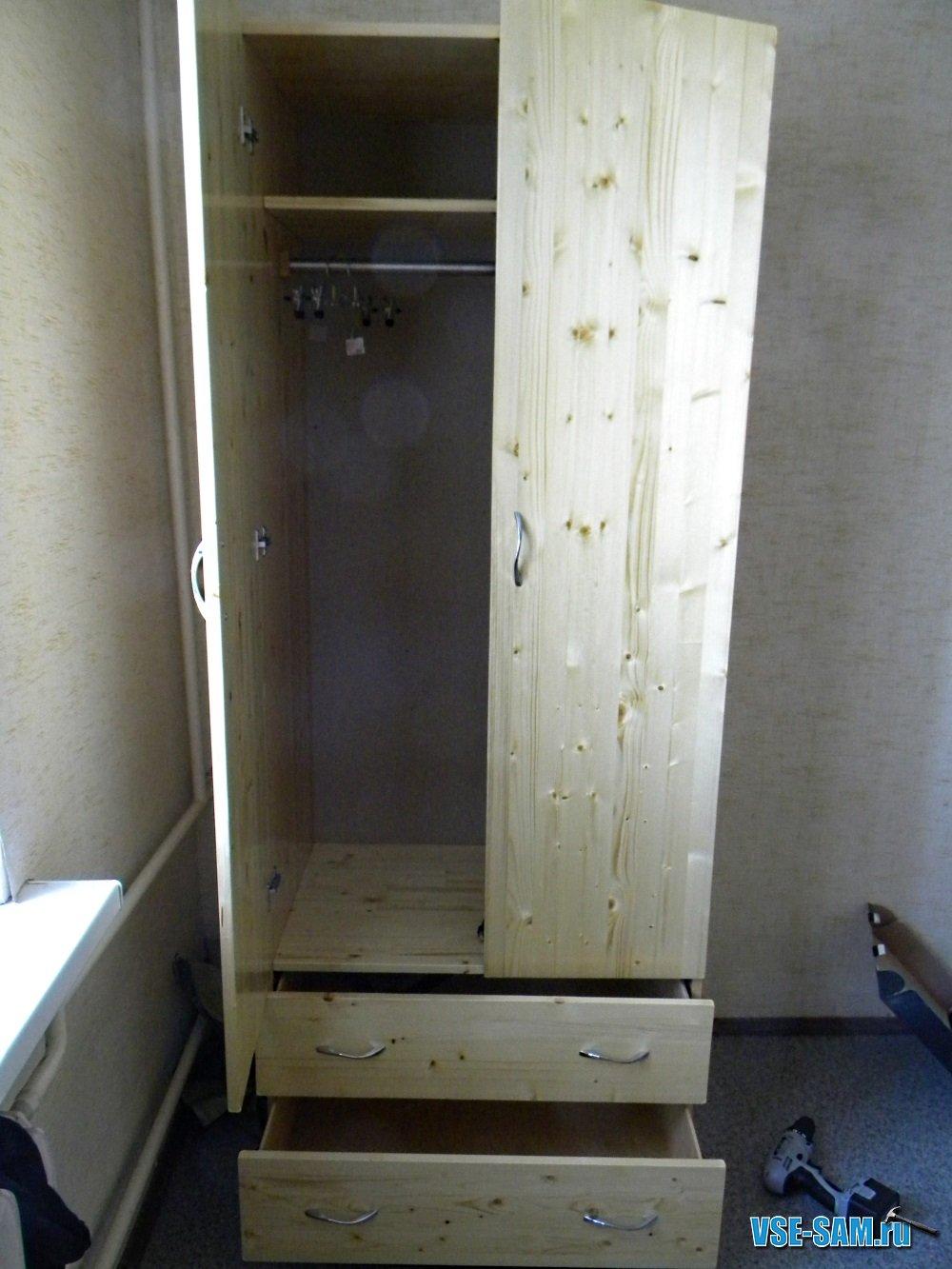 шкаф своими руками из фанеры фото