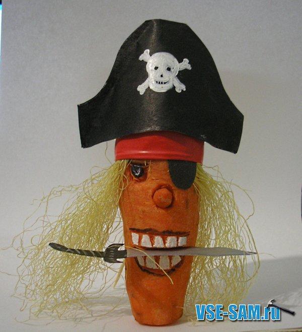 Как сделать поделку пирата 18