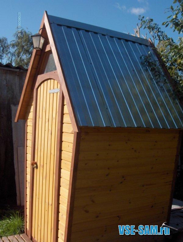 Летний туалет на даче