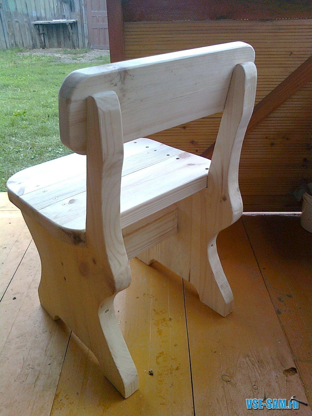 Мебель дачная своим руками
