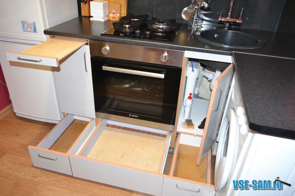 Как своими руками собрать кухню мебель 91