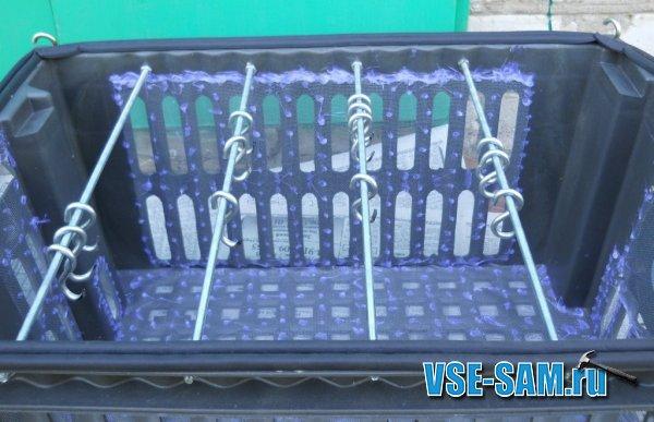 Ящик для сушки рыбы