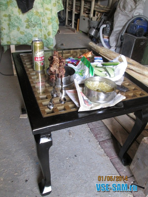 Пивной столик