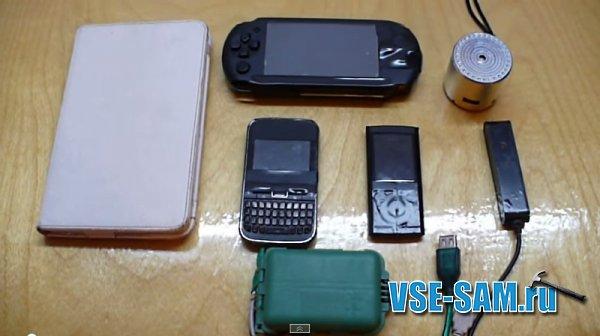 Портативный аккумулятор для зарядки мобильных устройств своими руками