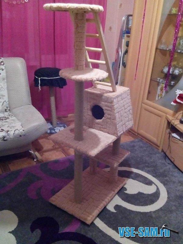 Игровой 5-уровневый комплекс для кошечки